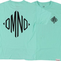 Diamond MonOGram Tee XXL Diamond Blue