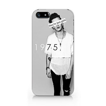 N-569- The 1975 they are just girls for iPhone 4/5/5C/6 case, Samsung galaxy S4/S5/Note3 case