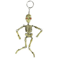 "6"" Spooky Skeleton Key Chain"