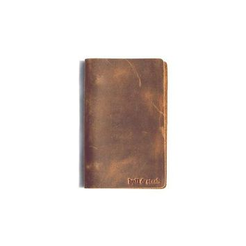 TRAVEL STASH LEATHER NOTEBOOK