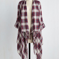 Beach House Brunch Jacket in Warm Plaid | Mod Retro Vintage Jackets | ModCloth.com