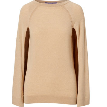 CASHMERE SWEATER CAPE