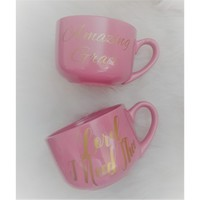Jesus and Pink Mugs