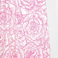 Plum & Bow Inked Rose Shower Curtain - Urban Outfitters