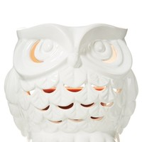 Ceramic Owl Luminary 1.3 oz. Mini Candle Luminary   - Slatkin & Co. - Bath & Body Works
