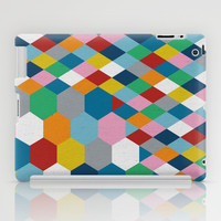 Honeycomb iPad Case by Project M