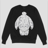Baymax Sweatshirt RESTOCK PREORDER – NFS Clothing / No Fit State Clothing