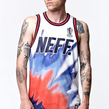 Neff Freedom Jersey Tank Top - Mens Tee - White