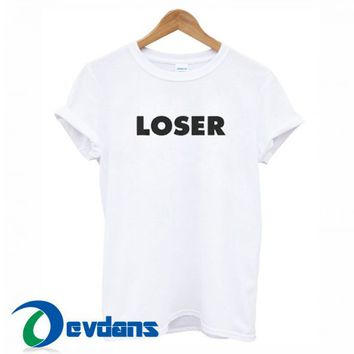 Loser Font T Shirt Women And Men Size S To 3XL