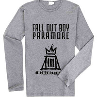 Fall Out Boy Paramore for Long Sleeved Mens and Long Sleeved Girls T Shirt