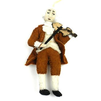 Mozart Felt Ornament - Silk Road Bazaar (O)