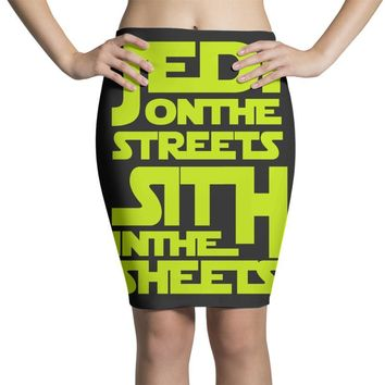 Jedi On The Streets Sith In The Sheets Pencil Skirts