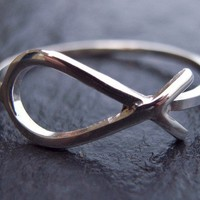 Sterling silver fish ring by Scape on Etsy