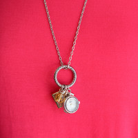 Mix Charm Pendant Necklace