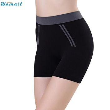 Womail Shorts Newly Design Women Girls Nylon Spandex best Summer 160201 Drop Shipping Womail