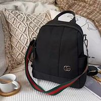 GUCCI simple retro men and women backpack bag
