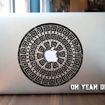 Magic Wheel macbook decal/Decal for Macbook Pro, Air or Ipad/Stickers/Macbook Decals/Apple Decal for Macbook Pro / Macbook Air/laptop 1341