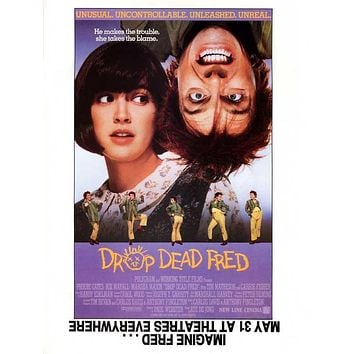 Drop Dead Fred 27x40 Movie Poster (1991)