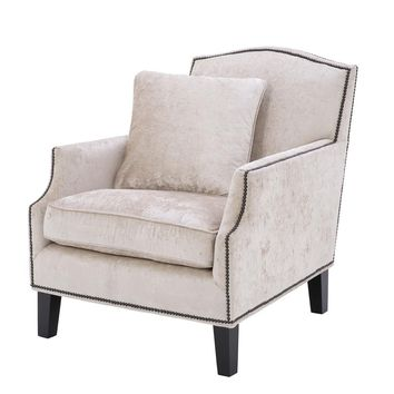 Beige Lounge Chair | Eichholtz Merlin