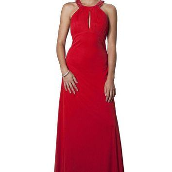 JS Collections - 863593 Sultry Keyhole Ruched Evening Dress