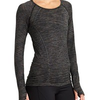 Athleta Womens Fastest Track Top Space Dye
