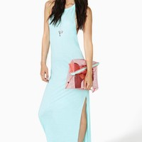 Gleaming Spring Maxi Dress
