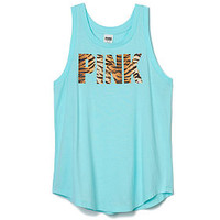 Graphic Muscle Tank - PINK - Victoria's Secret