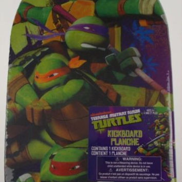 Nickelodeon Foam Kickboard Teenage Mutant Ninja Turtles Swimming Pool Training