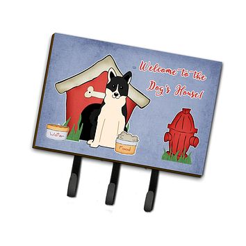 Dog House Collection Russo-European Laika Spitz Leash or Key Holder BB2783TH68