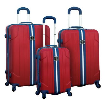 Travelers Club Luggage, Ford Mustang 3-Piece Expandable Hardside Luggage Set