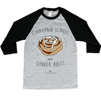 Cinnamon Scrolls, Not Gender Roles -- Unisex Long-Sleeve