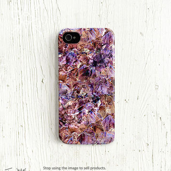 Crystal iPhone 4 case, Crystal iPhone 5 case, Jewel iPhone 4s case, , bling iphone 4 case, bling iphone 5 case, quartz diamond (c141)