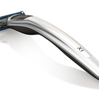 Bolin Webb X1 ARGENT WHITE Razor, Compatible With Fusion Blade