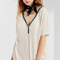 Out From Under Relaxed Henley Top | Urban Outfitters