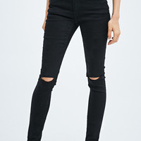 Cheap Monday Prime Jeans in R2 Black - Urban Outfitters
