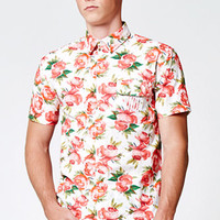 Vandal Waterflorals Lamar Short Sleeve Button Up Shirt at PacSun.com