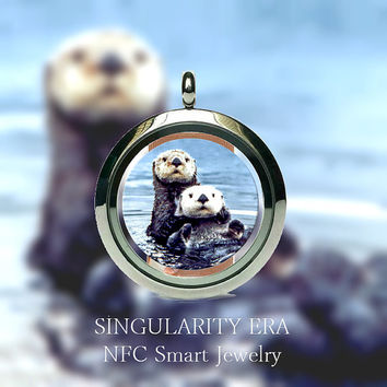 NFC Smart Jewelry for Automating tasks on Android smartphones, Windows phones and Blackberry. - Otters