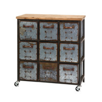 Franklin Steampunk Dresser