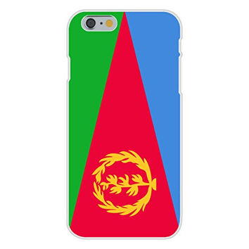 Apple iPhone 6 Custom Case White Plastic Snap On - Eritrea - World Country National Flags
