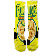 Funyuns Custom Nike Elite Socks