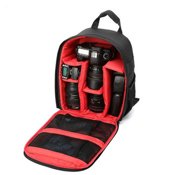 Waterproof multi-functional Digital DSLR Camera Video Bag