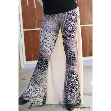 Floral Flare Leggings