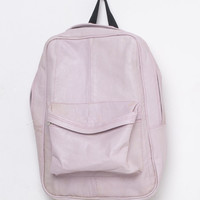 Motel Vintage Leather Rucksack  0002