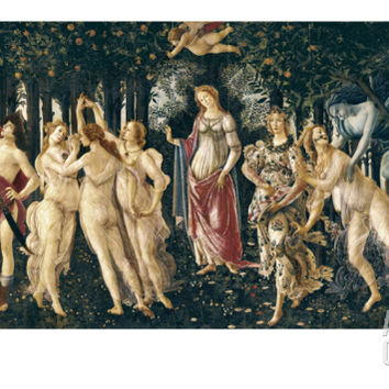 The Spring Art Print by Sandro Botticelli at Art.com