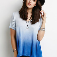 Dip-Dyed Trapeze Tee