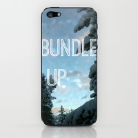 Bundle up iPhone & iPod Skin by LJehle