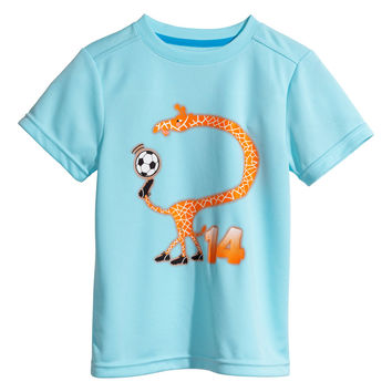 H&M - Sports T-shirt - Turquoise - Kids