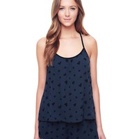 Flocked Hearts Cami by Juicy Couture