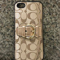 iPhone 5 Custom Coach Inspired Hard iPhone Case