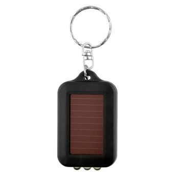 Mini Portable Solar Powered Light Keychain
